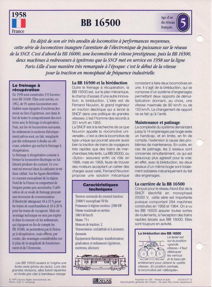 [Fiches Atlas] Trains de légende, éditions Atlas (2e partie) T15310