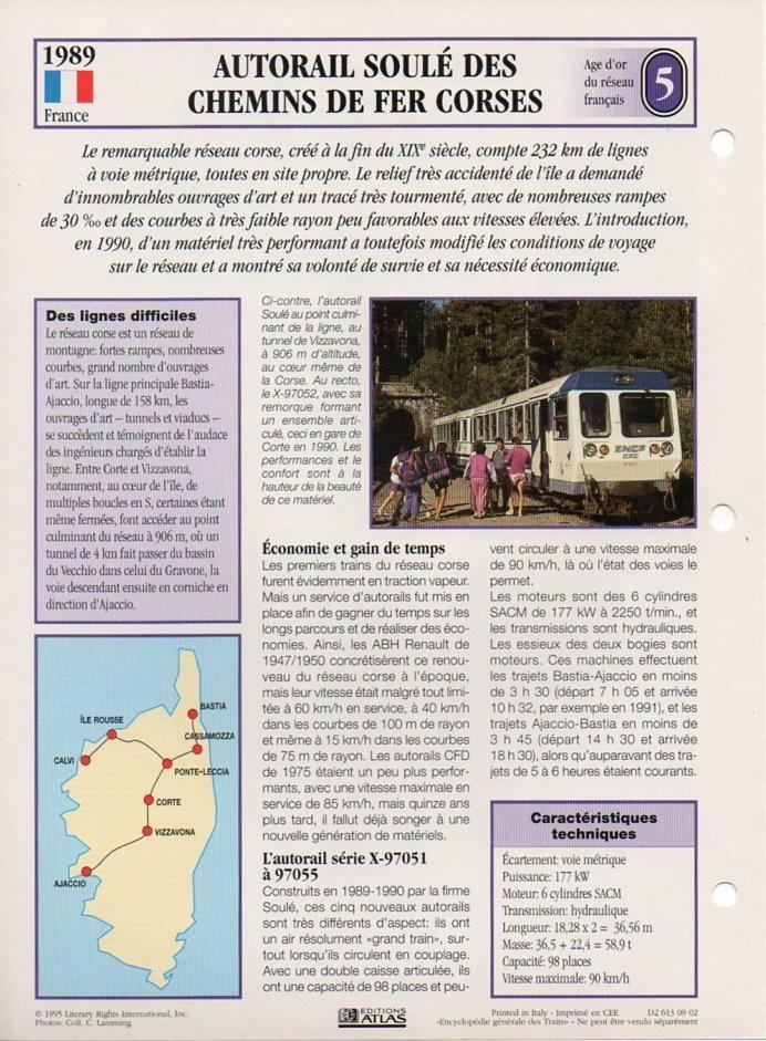 [Fiches Atlas] Trains de légende, éditions Atlas (2e partie) T16910