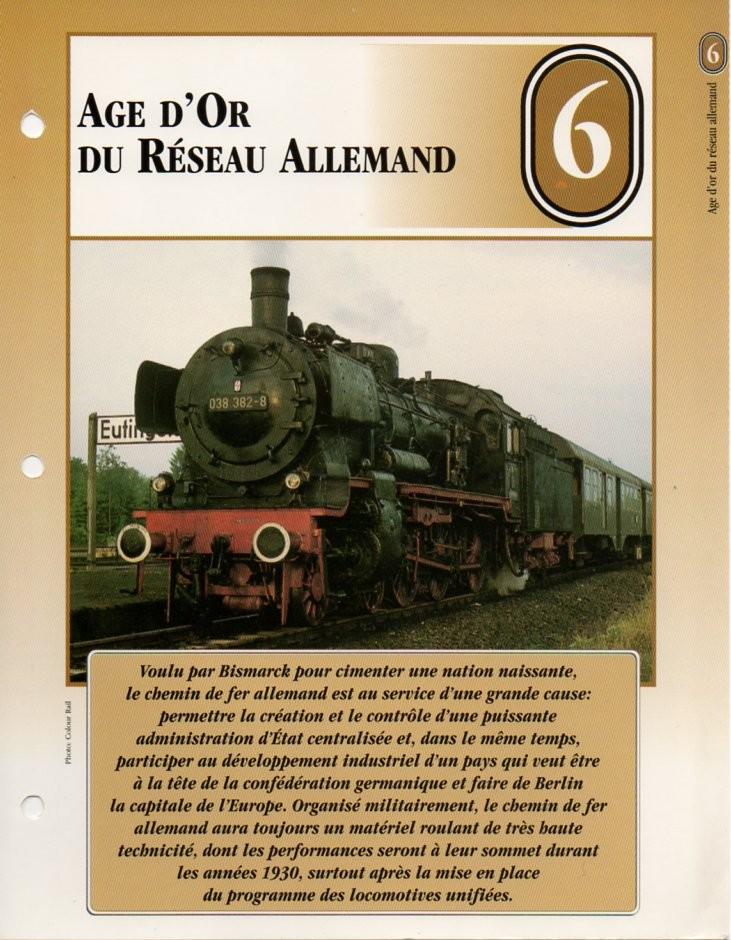 [Fiches Atlas] Trains de légende, éditions Atlas (2e partie) T17010