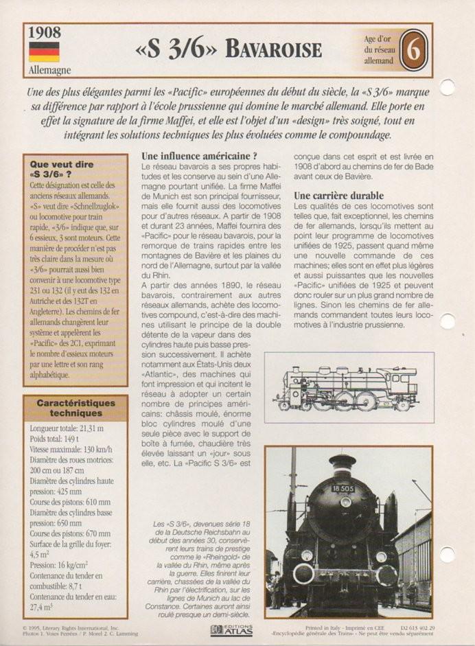 [Fiches Atlas] Trains de légende, éditions Atlas (2e partie) T17610