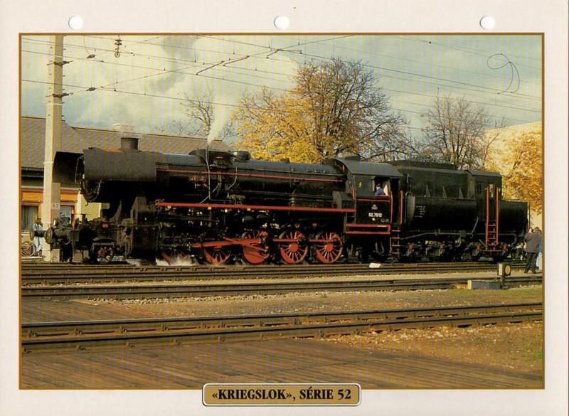 [Fiches Atlas] Trains de légende, éditions Atlas (2e partie) T18310