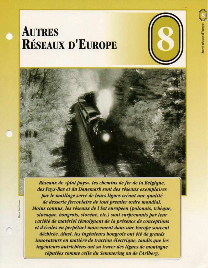 [Fiches Atlas] Trains de légende, éditions Atlas (2e partie) T19410