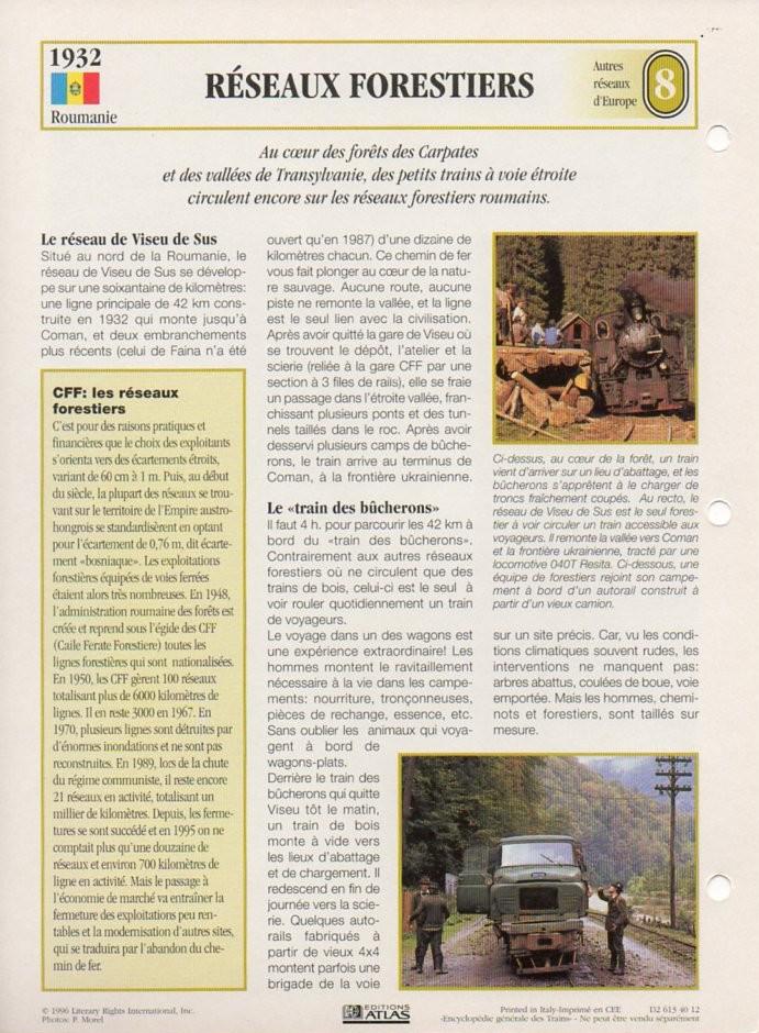 [Fiches Atlas] Trains de légende, éditions Atlas (2e partie) T20010