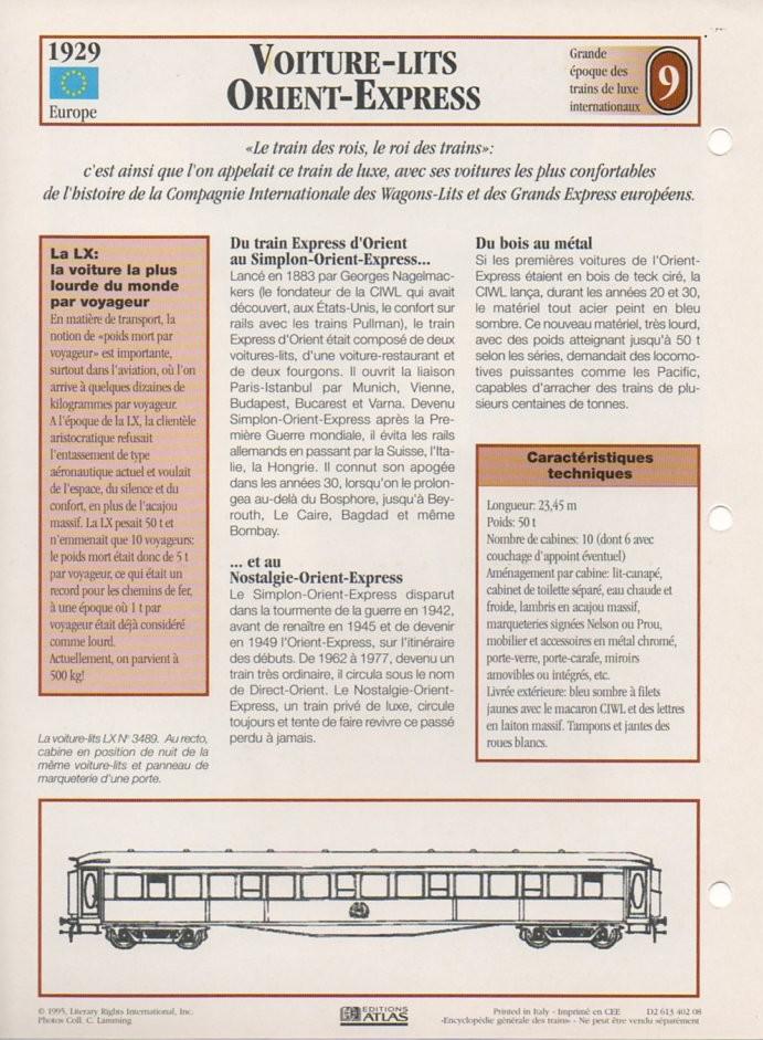 [Fiches Atlas] Trains de légende, éditions Atlas (2e partie) T22110