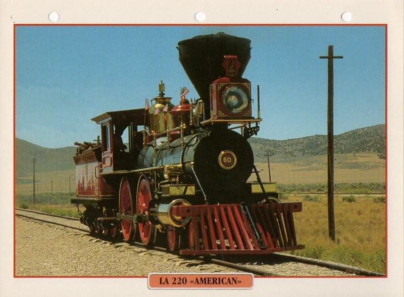 [Fiches Atlas] Trains de légende, éditions Atlas (2e partie) T22310