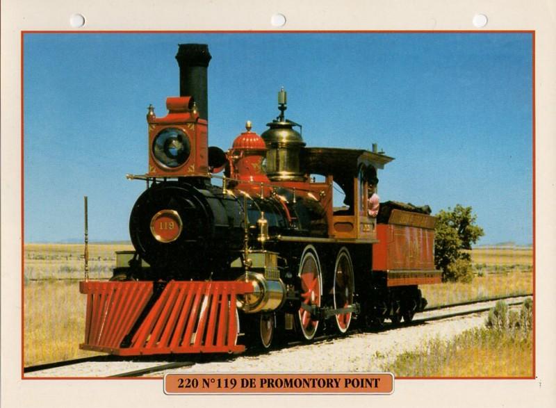 [Fiches Atlas] Trains de légende, éditions Atlas (2e partie) T22510