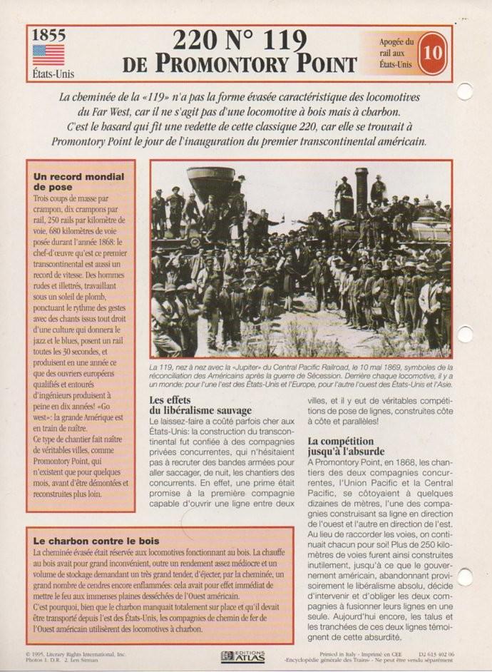 [Fiches Atlas] Trains de légende, éditions Atlas (2e partie) T22610