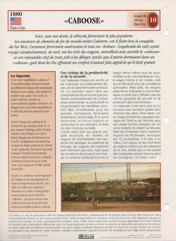 [Fiches Atlas] Trains de légende, éditions Atlas (2e partie) T23010
