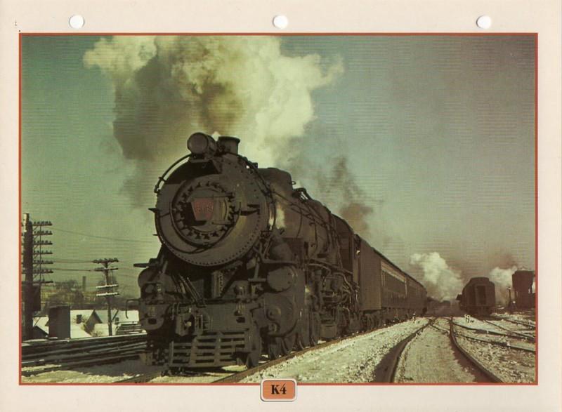 [Fiches Atlas] Trains de légende, éditions Atlas (2e partie) T24310