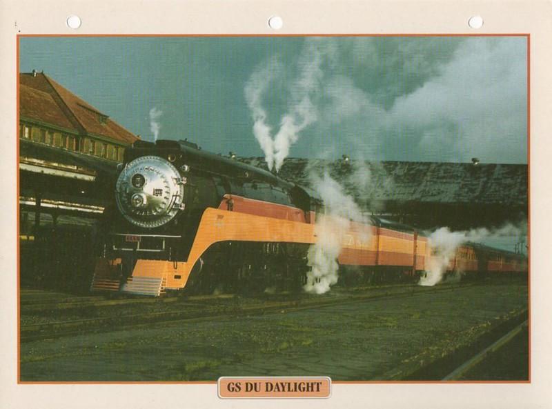 [Fiches Atlas] Trains de légende, éditions Atlas (2e partie) T25410