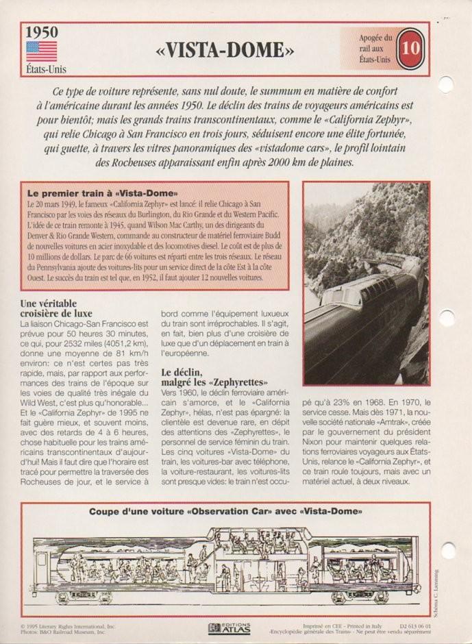 [Fiches Atlas] Trains de légende, éditions Atlas (2e partie) T25910