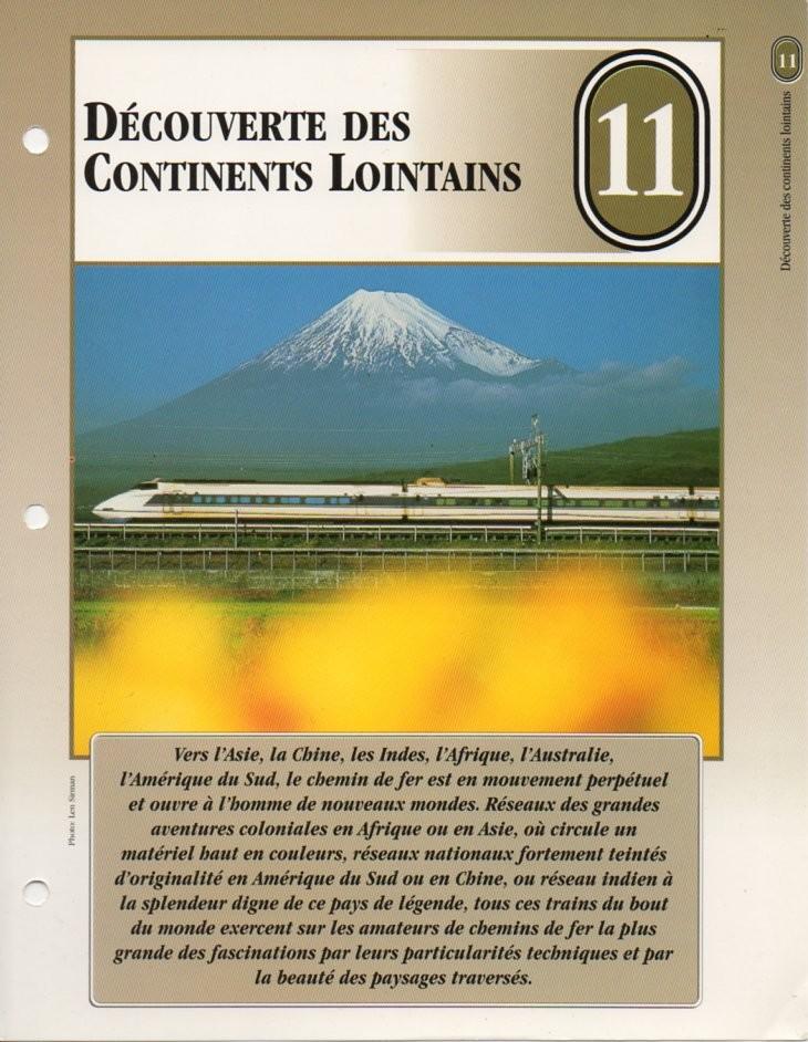 [Fiches Atlas] Trains de légende, éditions Atlas (2e partie) T26210