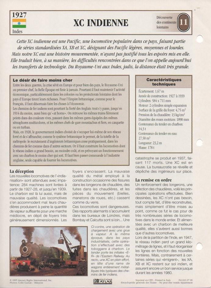 [Fiches Atlas] Trains de légende, éditions Atlas (2e partie) T26610
