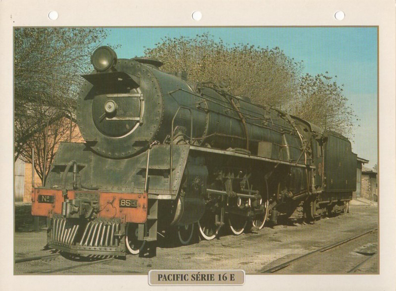 [Fiches Atlas] Trains de légende, éditions Atlas (2e partie) T27110