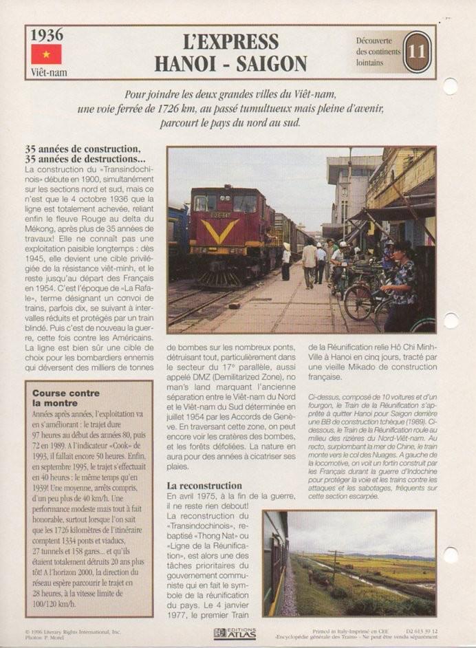 [Fiches Atlas] Trains de légende, éditions Atlas (2e partie) T27410