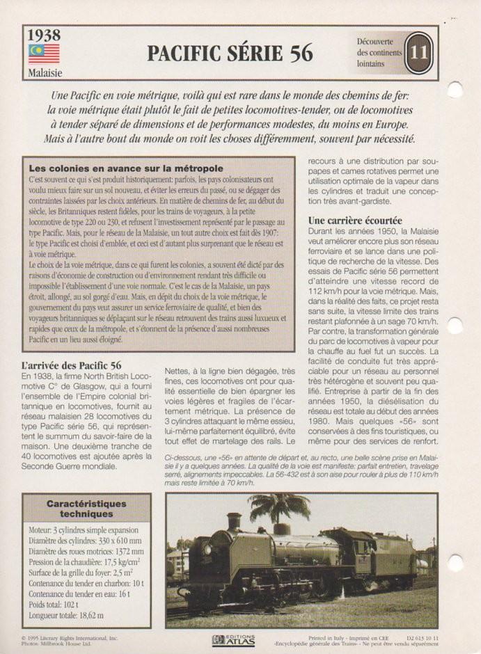 [Fiches Atlas] Trains de légende, éditions Atlas (2e partie) T27710