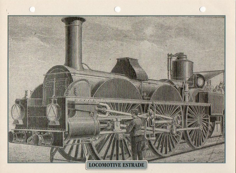 [Fiches Atlas] Trains de légende, éditions Atlas (2e partie) T28711