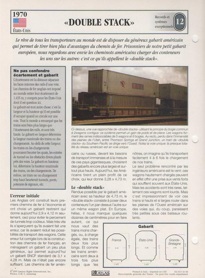 [Fiches Atlas] Trains de légende, éditions Atlas (2e partie) T30810
