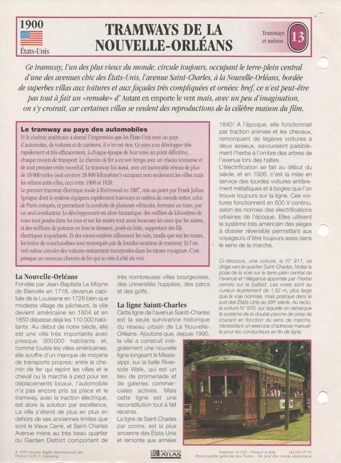 [Fiches Atlas] Trains de légende, éditions Atlas (2e partie) T31510