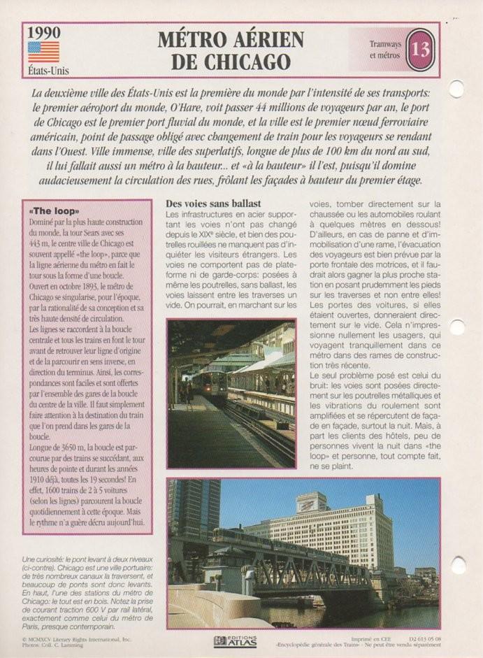 [Fiches Atlas] Trains de légende, éditions Atlas (2e partie) T31910