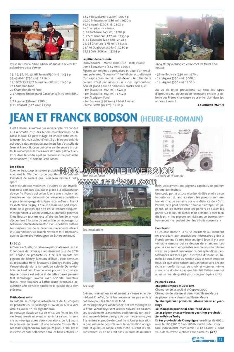 Pigeons voyageurs de Casablanca: Frères Khanousse Khanou11