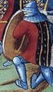 Combat avec un pavois au XVe Copie133