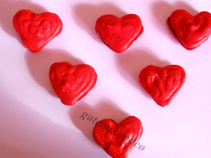 Biscuits, macarons, muffins et cupcakes de Saint Valentin - Page 2 Photo182