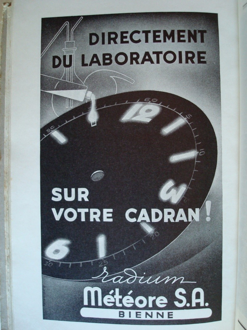 Mesures radio-activité de montres vintages Photos30