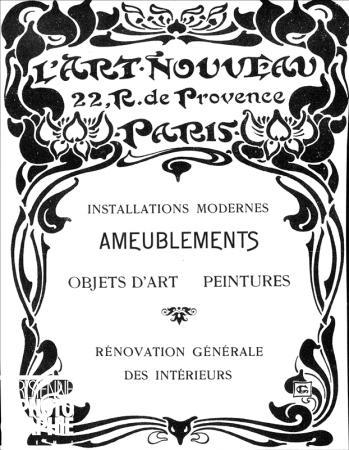 La maison de l'Art Nouveau - Maison Bing - Paris 1895 - 1905 14587-10
