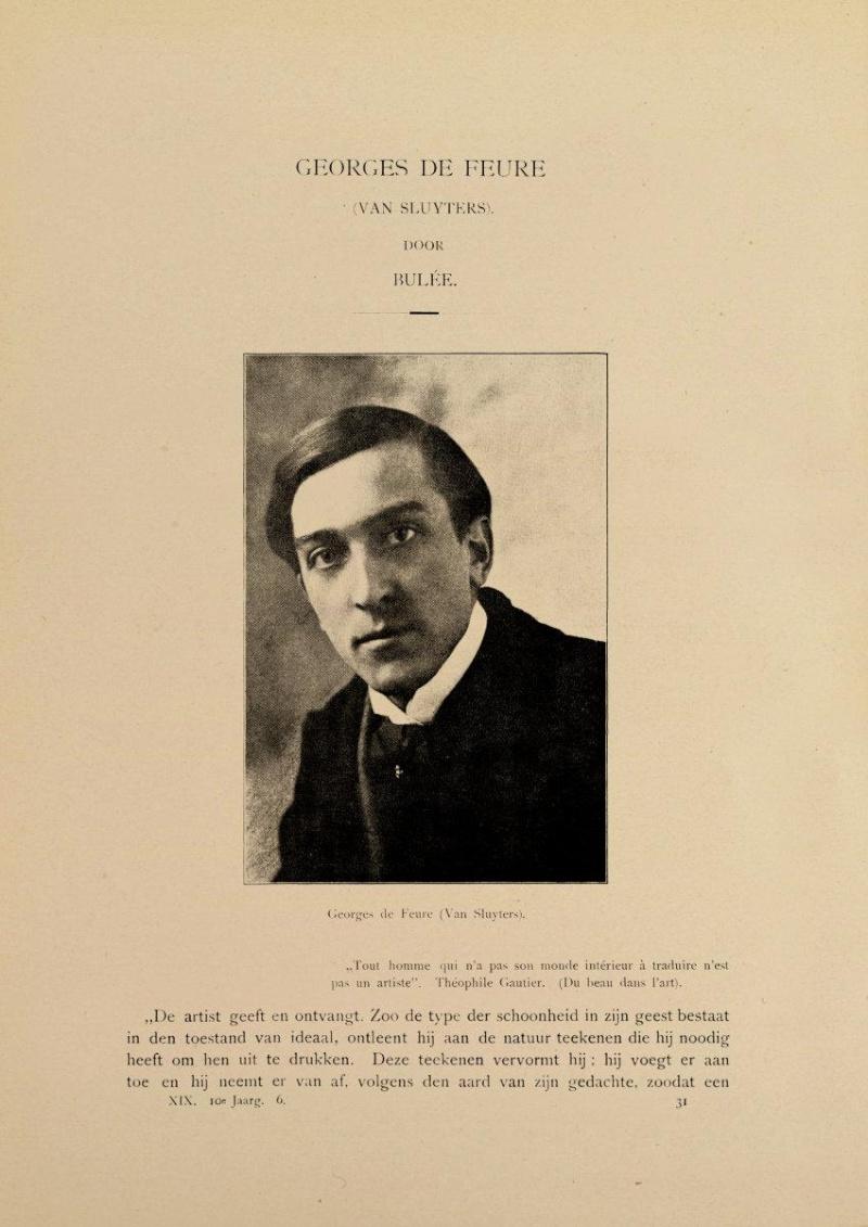 Georges de Feure Le Pavillion de l'Art Nouveau Bing - Exposition Universelle Paris 1900 48111