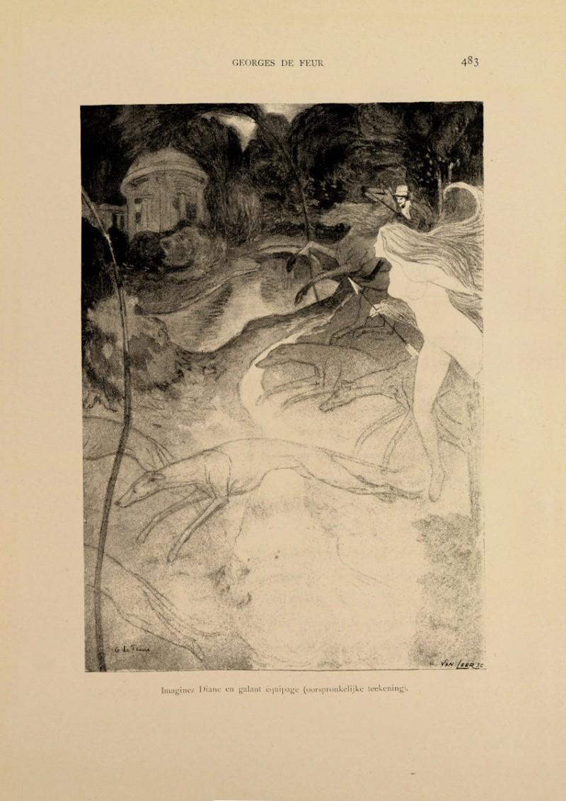 Georges de Feure Le Pavillion de l'Art Nouveau Bing - Exposition Universelle Paris 1900 48310