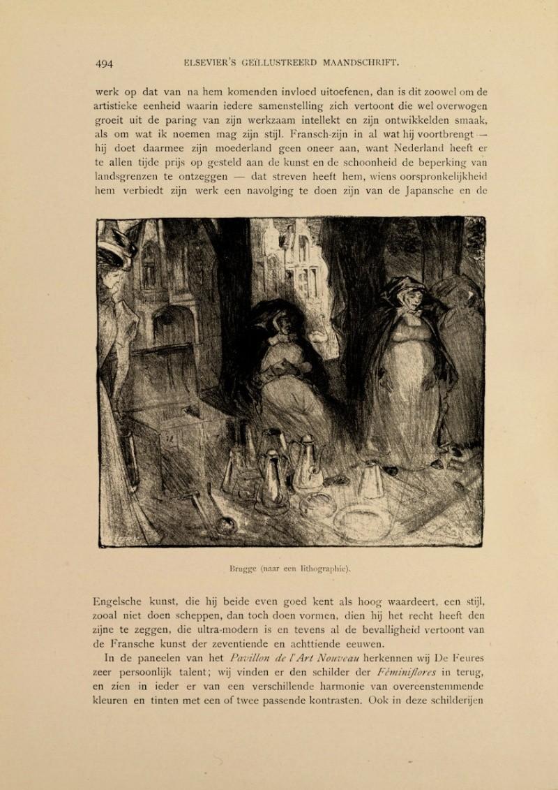 Georges de Feure Le Pavillion de l'Art Nouveau Bing - Exposition Universelle Paris 1900 49410