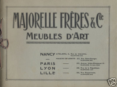 Majorelle Freres & Cie Meubles d'Art - Paris / Nancy / Lille / Lyon 729a_110
