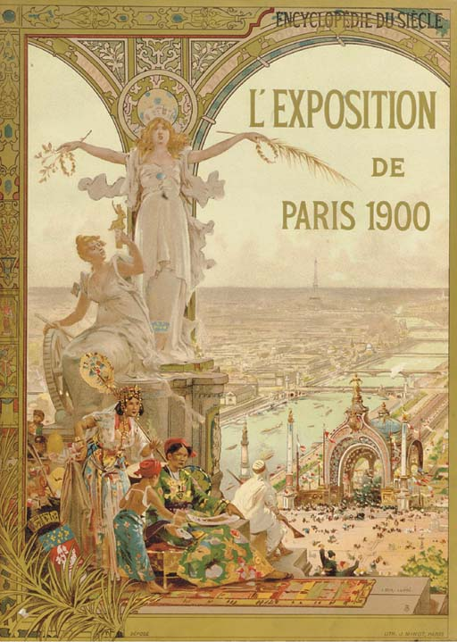Mobilier a l'Exposition Universelle Paris 1900 D4575410