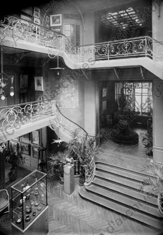 La maison de l'Art Nouveau - Maison Bing - Paris 1895 - 1905 Frapn010