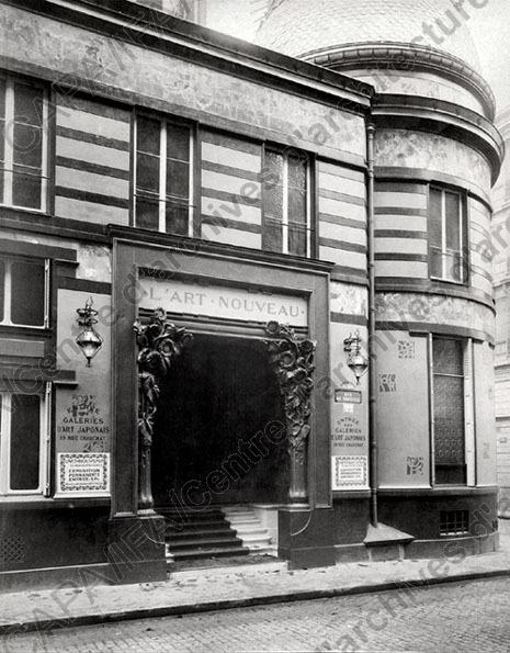 La maison de l'Art Nouveau - Maison Bing - Paris 1895 - 1905 Frapn012