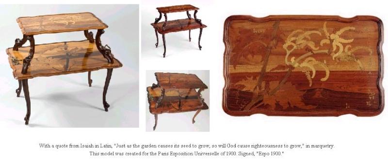 Emilé GALLE - Exposition Universelle Paris de 1900 Galle016