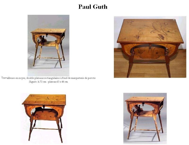 Ebeniste Paul Guth Guth_t10