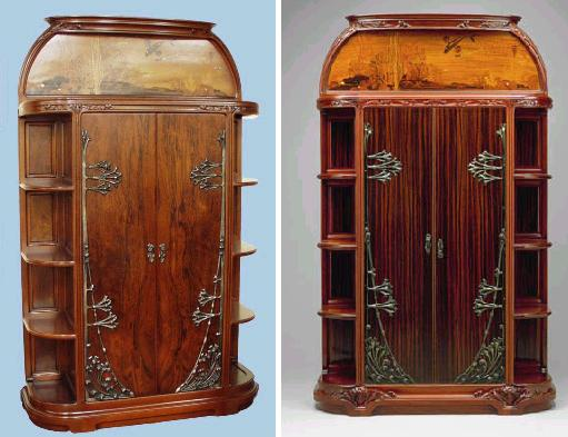 Louis MAJORELLE 1859-1916 - same design but with adaptations Majore13