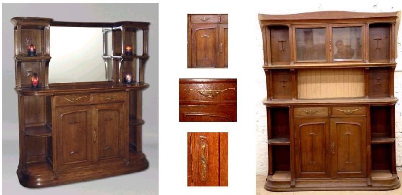Louis MAJORELLE 1859-1916 - same design but with adaptations Selplu10