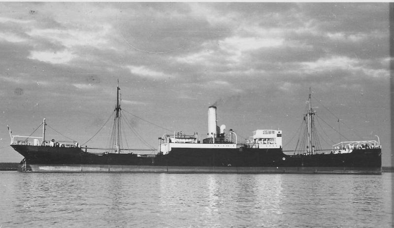 Navires marchands belges coulés lors de la 2ème guerre Antver10