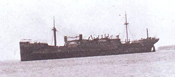 Navires marchands belges coulés lors de la 2ème guerre Antver11