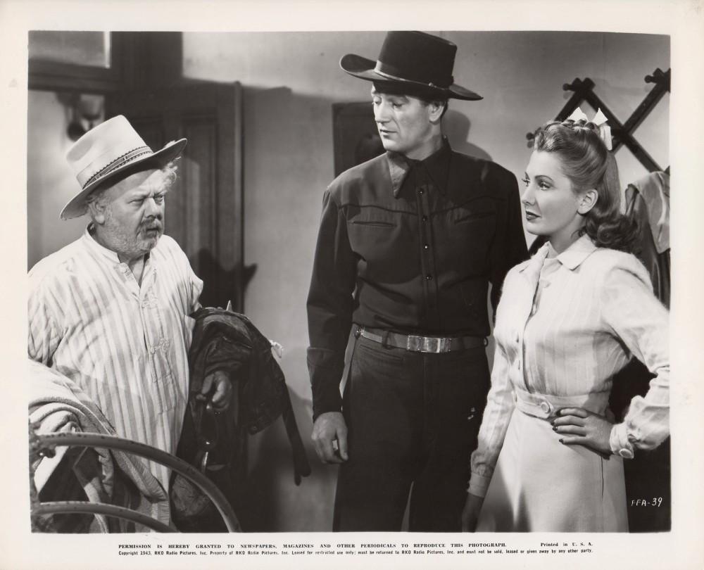 La Fille et son Cowboy - A Lady Takes A Chance - 1943 A_duk143