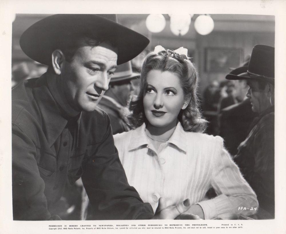 La Fille et son Cowboy - A Lady Takes A Chance - 1943 A_duk159