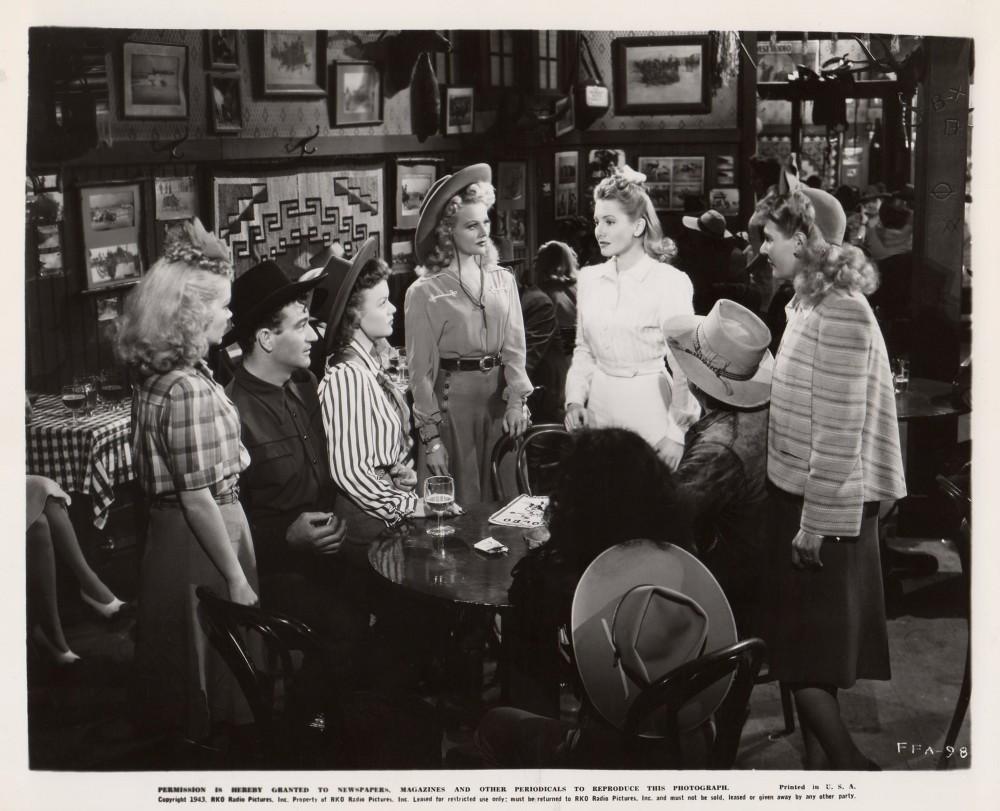 La Fille et son Cowboy - A Lady Takes A Chance - 1943 A_duk175
