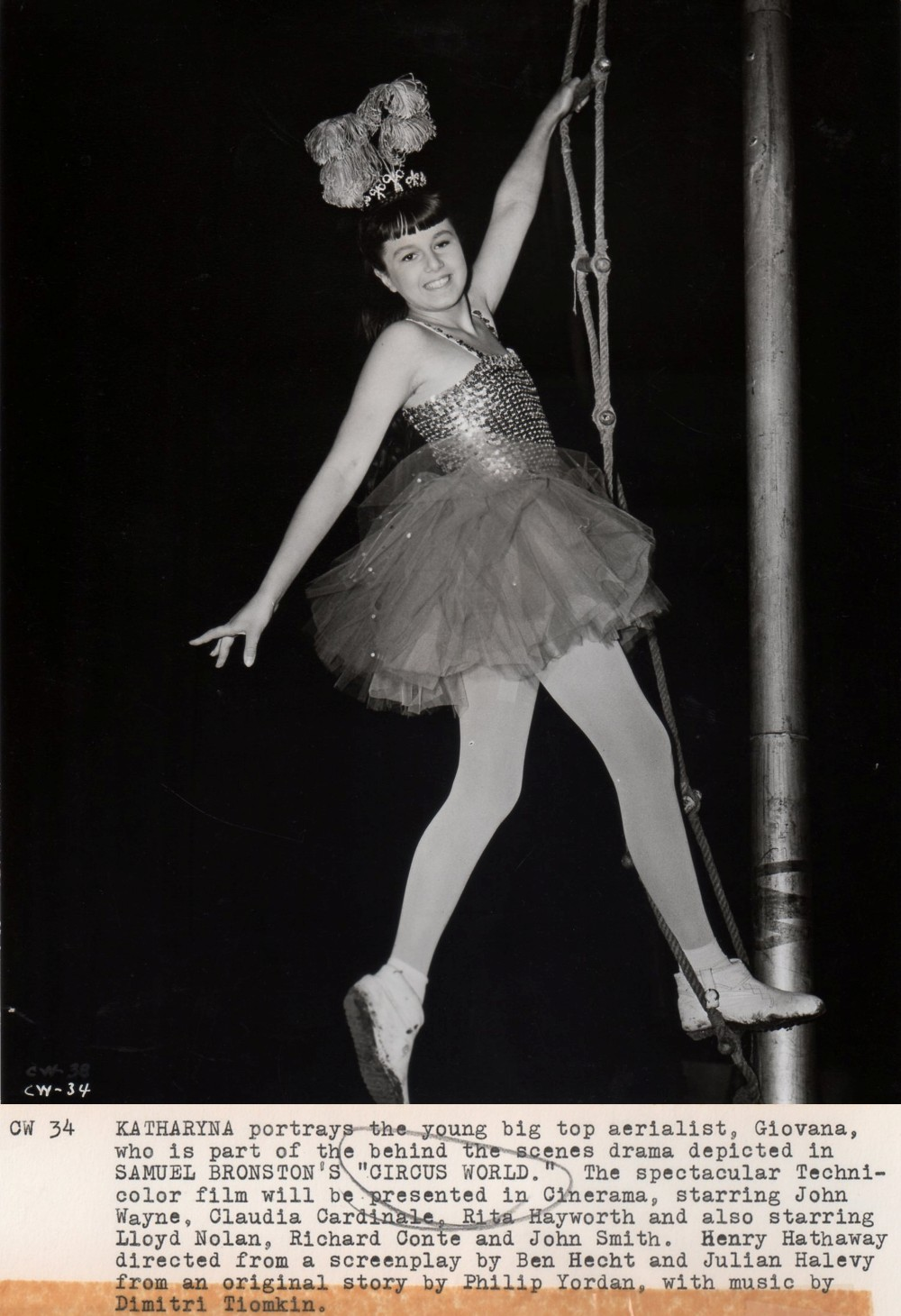 Le Plus Grand Cirque du Monde - Circus World - 1964  - Page 2 Duke1410
