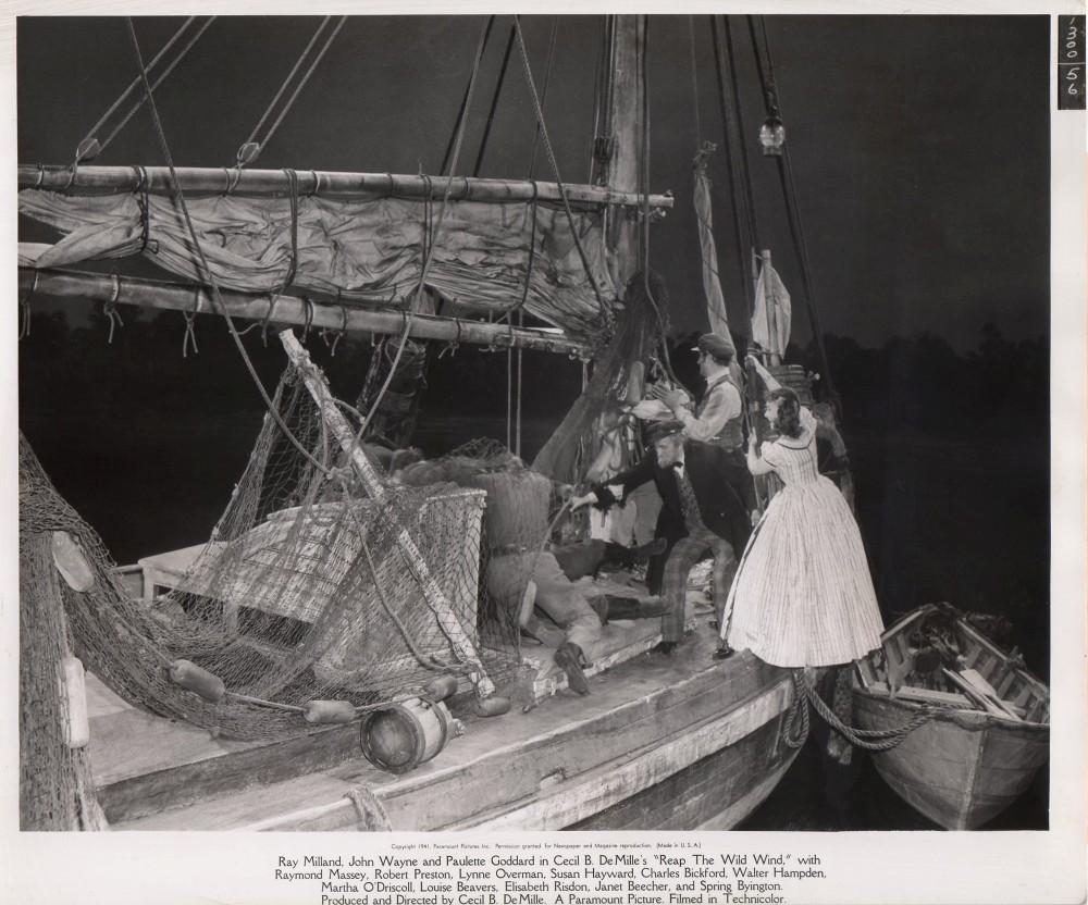 Les naufrageurs des mers du Sud - Reap the Wild Wind - 1942 Wayne_70