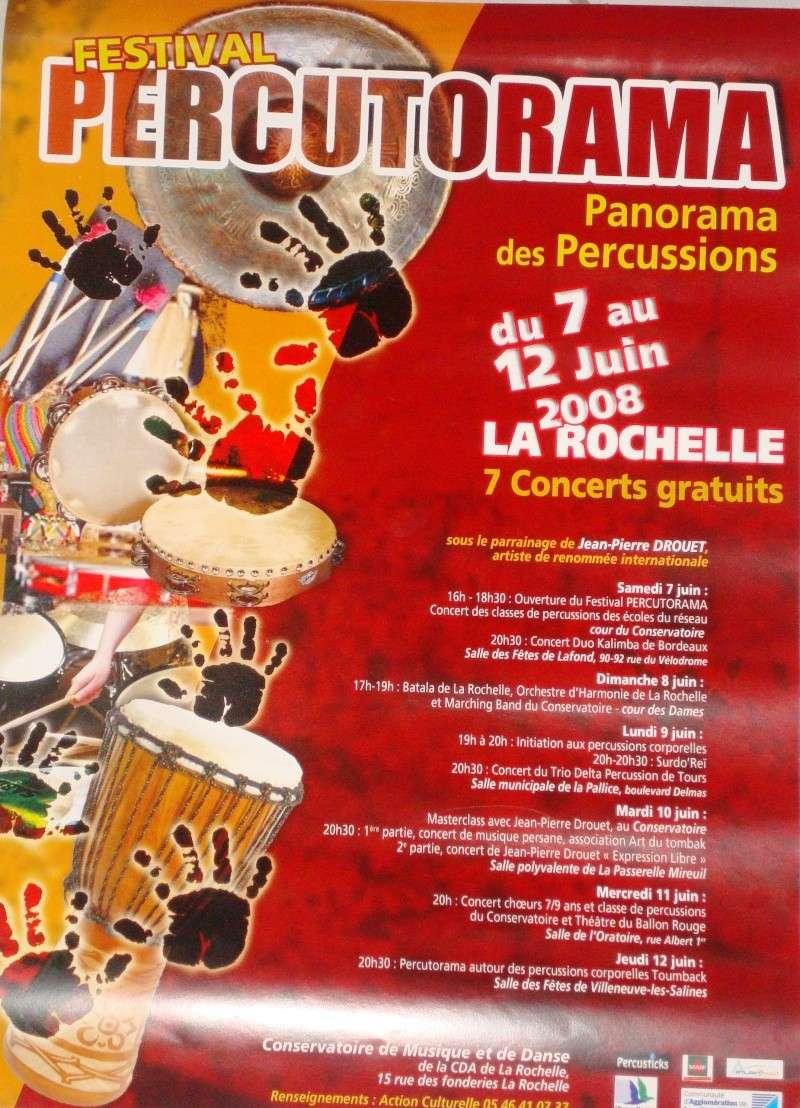festival percutorama à la rochelle (festival de percussions) Percut10