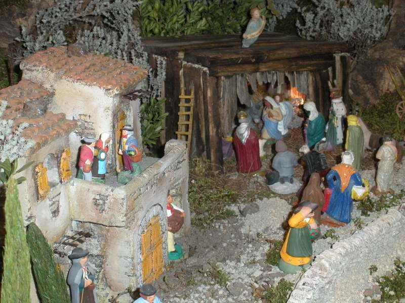 La crèche de Gérard 2011 Dscn6034