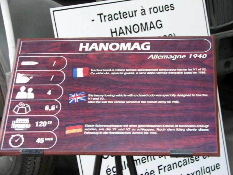 tracteur Hanomag SS 100  Takom 1/35 Saumur19